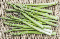 Bunch Asparagus Stock Photo