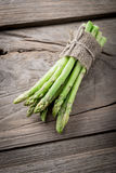bunch of asparagus stems Royalty Free Stock Photo