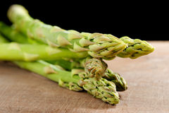 Bunch of asparagus stems Stock Photo