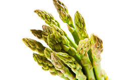Bunch of asparagus tips Stock Photo