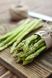 Bunch of asparagus stock photo