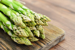 Bunch of asparagus Royalty Free Stock Images