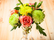 Bunch of autumn flowers Stock Photography