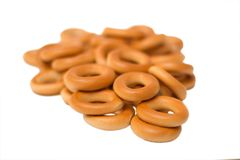 Bunch of bagels Royalty Free Stock Image