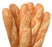 A bunch of baguette bread Royalty Free Stock Photo