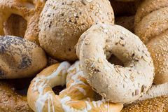 Bunch of bakery goods. Close up shot of a bunch of bakery goods Royalty Free Stock Photos