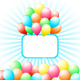 Bunch of Balloon Royalty Free Stock Image