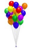 Bunch of balloons Royalty Free Stock Photos