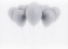 Bunch of balloons celebration background Stock Photos