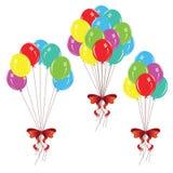 Bunch of Balloons Stock Photos