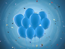 A bunch of balloons royalty free stock image