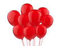 A bunch of balloons royalty free stock photo