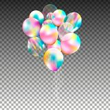 Bunch of balloons. Stock Photography