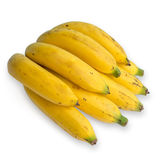 Bunch of banana. On white background Stock Images