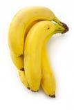 Bunch of bananas. Isolated stock image