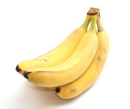 Bunch of bananas. Isolated on white Stock Image
