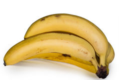 Bunch of bananas. Isolated on white background Stock Image