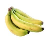 Bunch of Bananas. Bunch of yellow bananas, isolated Stock Photos
