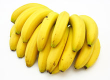 Bunch of bananas Royalty Free Stock Photos