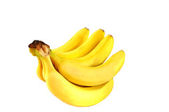 A bunch of bananas. Royalty Free Stock Photography