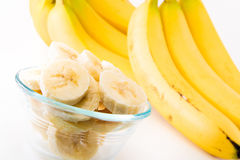 A bunch of bananas Stock Photo