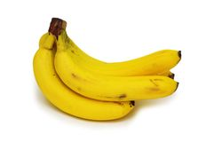Bunch of bananas isolated Royalty Free Stock Image