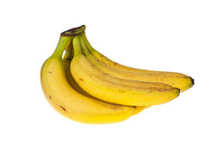 Bunch of bananas. On isolated background Stock Photos