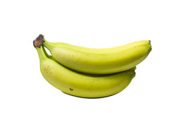 Bunch of bananas isolated on white background Royalty Free Stock Photo