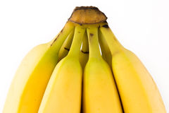 Bunch of Bananas. A bunch of Bananas isolated on a white background stock photo