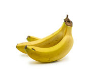 Bunch of bananas isolated on white background Stock Photography