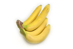 Bunch of bananas. Isolated on white background Stock Photography
