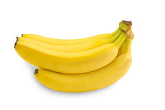 Bunch of bananas. Isolated on white background Royalty Free Illustration