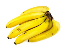 Bunch of bananas studio shot Stock Images