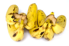 Bunch of bananas. On white background Royalty Free Stock Photos