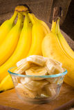 A bunch of bannanas Royalty Free Stock Photo