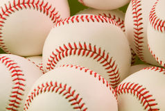 Bunch of baseballs Royalty Free Stock Images
