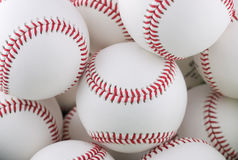 Bunch of baseballs Royalty Free Stock Image