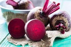 Bunch of beetroot Stock Image