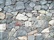 Bunch of big granite stones horizontal picture. Royalty Free Stock Photography