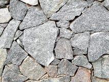 Bunch of big granite stones horizontal picture. Stock Image