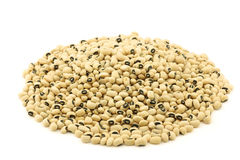 Bunch of black eyed peas Stock Photos