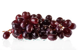 Bunch of black grapes Stock Photography