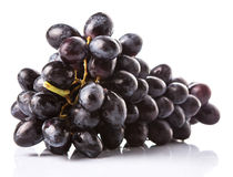 A Bunch Of Black Grapes Fruit VI Royalty Free Stock Image