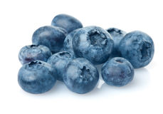 Bunch of blueberries Royalty Free Stock Image