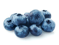 Bunch of blueberries royalty free stock photos