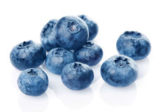 Bunch of blueberries Royalty Free Stock Photo