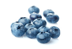 Bunch of blueberries Royalty Free Stock Images