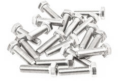 Bunch of bolts Royalty Free Stock Photography