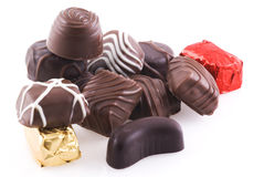 Bunch of bonbons. Royalty Free Stock Images