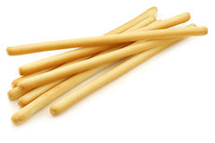 Bunch of bread sticks Stock Images